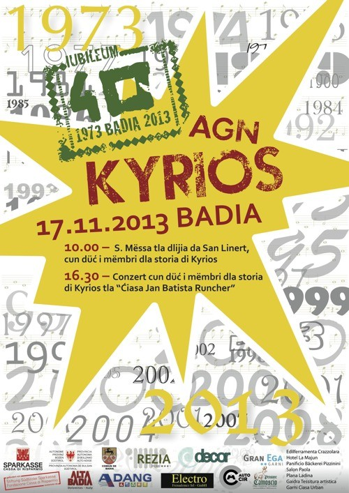 Kyrios – 40. Jubiläumsfeier