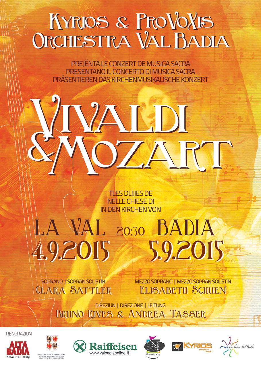 Vivaldi & Mozart – Kirchenmusikalisches Konzert