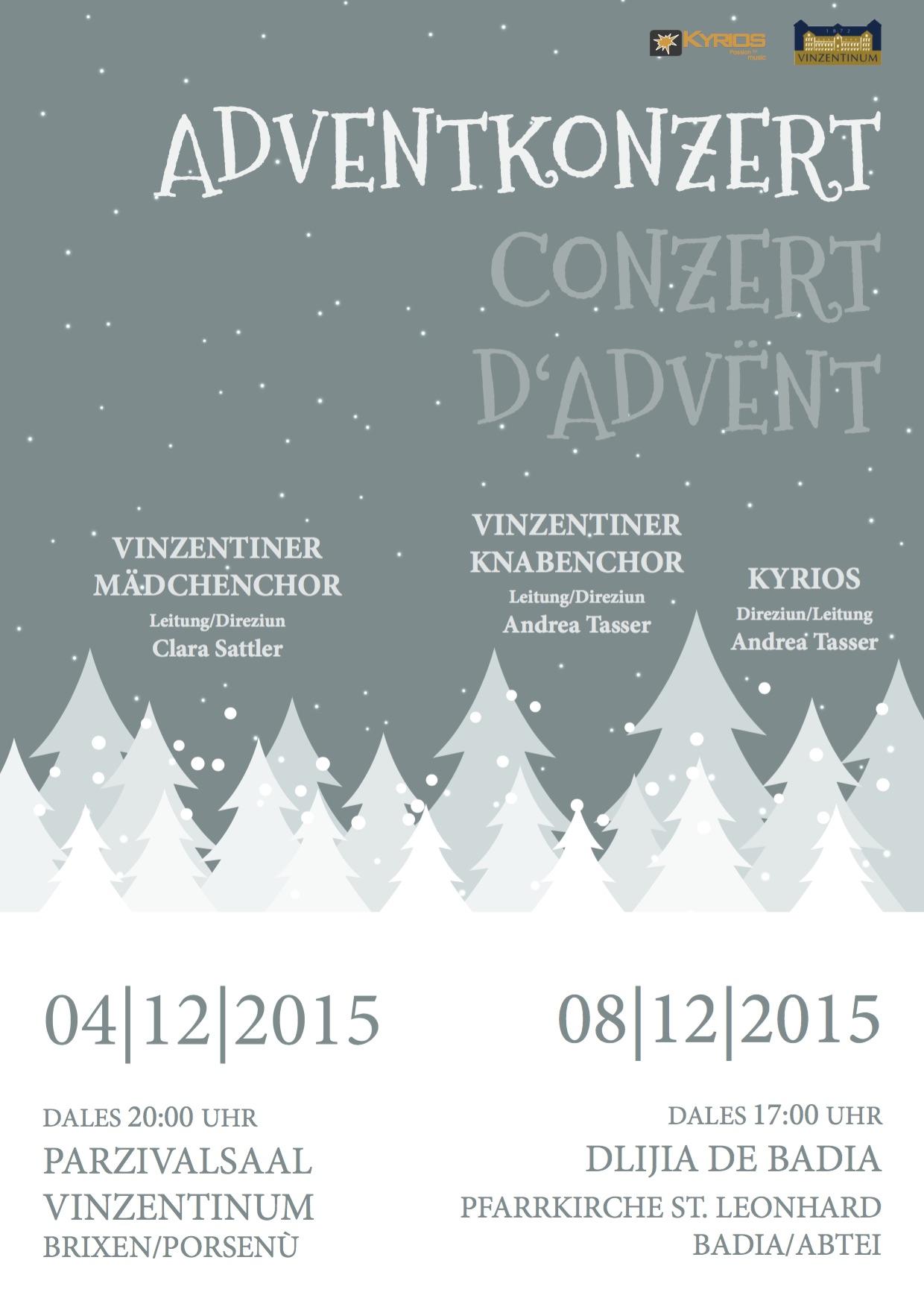 Conzert d'Advënt – Adventkonzert