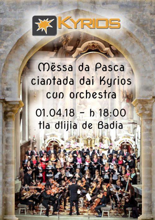 Santa Messa di Pasqua – Kyrios e orchestra